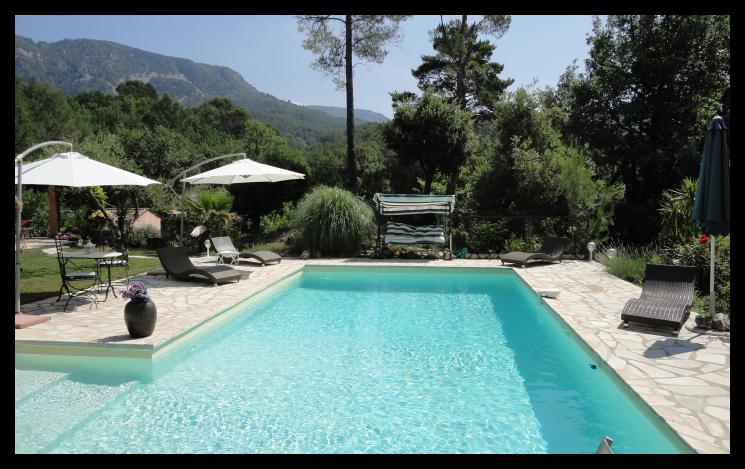 Tuin en zwembad for Afmetingen zwembad tuin